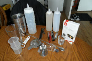 Bartenders Kit. (mixology kit)