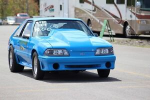 1987 FORD MUSTANG SUPER PRO DRAG CAR. SELL/TRADE