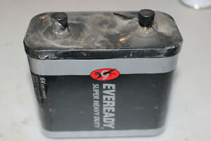 Eveready Super Heavy Duty 6V Battery