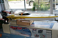 AQUACRAFT RIO 51 GASOLINE POWERED R/C BOAT
