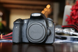 CANON 60D - DSLR CAMERA -BODY ONLY