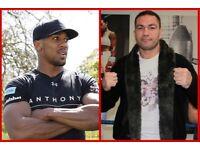 2 X Anthony Joshua vs Pulev tickets