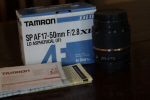 Tamron A016 - Zoom lens - 17 mm - 50 mm - f/2.8 XR - Sony