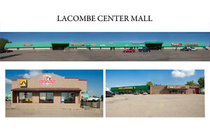 RETAIL SPACE in Lacombe Centre Mall