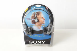 Sony SRF H3 radio headset - brand new in sealed plastic package