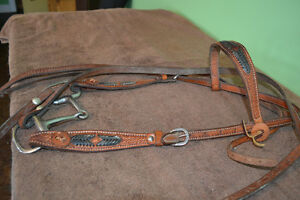 Bridle, leather western