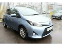 2014 BLUE TOYOTA YARIS 1.5 HYBRID ICON PLUS AUTO 5DR CAR FINANCE FR £137 PCM