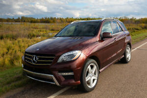 2014 Mercedes-Benz M-Class ML 350 BlueTEC SUV, Crossover