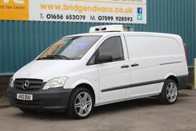 2012 MERCEDES VITO 113 2.1 CDI 136 BHP LONG REFRIGERATED AUTOMATIC DIESEL VAN, G