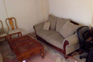 Furnished 1 Bedroom Apartment  by Skyrtrain 15 Min to Downtown