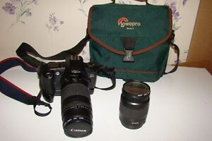 CANON EOS REBEL G 35MM FILM CAMERA & LENS