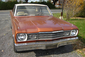 Plymouth Scamp (valiant/dart) 1974 survivor