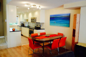 NEWLY RENOVATED, FURNISHED 3 BEDROOM TOWNHOUSE FOR RENT