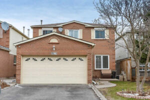 4+1BR +4W STUNNING DETACHED 2STOREY HOUSE  FOR SALE IN PICKERING