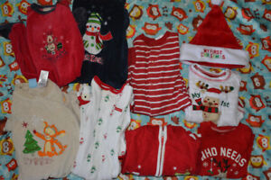 6-9 months Christmas clothes