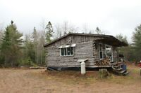 Hunting and Fishing Camp - and 26.79 acres to boot!