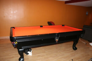 Pool Table Black Beauty II