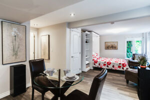 Fully furnished Studio available December 1, 2018