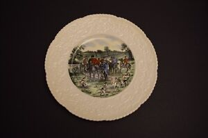 """Rare full colour Royal Cauldon """"The Meet"""" collectable plate Kitchener / Waterloo Kitchener Area image 1"""