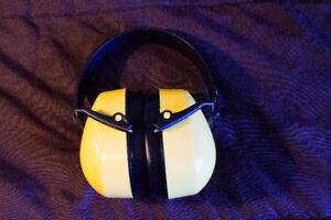 Unused earmuffs/ hearing protection
