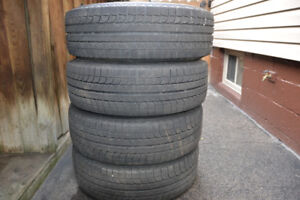 18 INCH WINTER TIRES ON RIMS