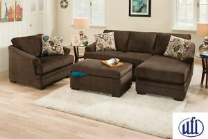 Sunflower Brown Sectional