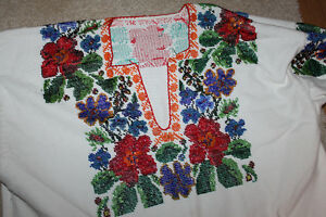 Ukrainian Hand Beaded Dress