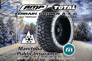 AMP TERRAIN GRIPPER A/T G 37X12.5X20 E RATED