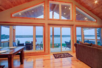 FULLY FURNISHED TURN KEY LUXURIOUS WATERFRONT HOME!