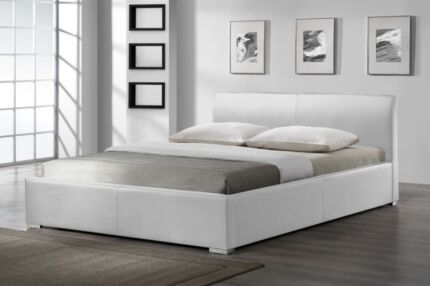 Leather Bed Gas Lift Bed from $160