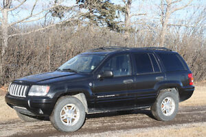 2004 Jeep Grand Cherokee Limited Edition SUV, Crossover