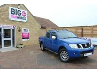 2013 NISSAN NAVARA OUTLAW DCI 231 4X4 SHR DOUBLE CAB WITH ROLL'N'LOCK TOP PICK U