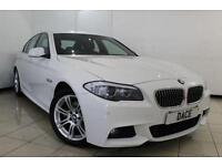 2013 62 BMW 5 SERIES 2.0 520D M SPORT 4DR AUTOMATIC 181 BHP DIESEL