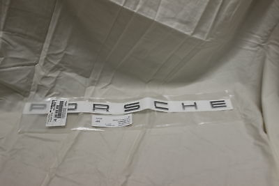 "PORSCHE OEM 11-16 Cayenne ""PORSCHE"" Emblem Badge Nameplate CHROME  95855968701"
