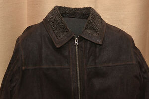 Leather Jacket by Denver Hayes lined with Thinsulate-Like Fill Peterborough Peterborough Area image 2