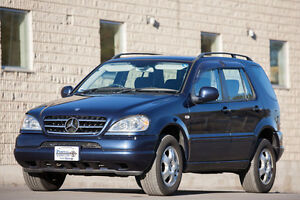 2000 Mercedes-Benz ML 270 SUV - Rare RHD Postal Vehicle JDM Cert
