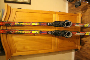 Back Country XC Set up boots and skis