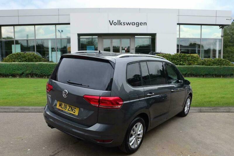 2018 Volkswagen Touran 20 Tdi Se Scr 150ps Dsg Diesel Grey