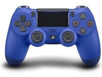 PS4 DualShock 4 V2 Wireless Controller - Wave Blue (2 controllers)