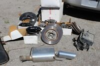 2009 Ford Shelby Mustang Muffler and Evan canister