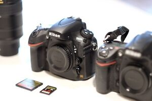 Nikon D800E (almost new - less than 2k shutter activations)