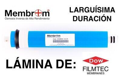 Membrana Con Lámina DOW FILMTEC™ 75 GPD Osmosis Inversa MEMBROM® filtro agua...