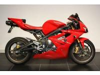 2008 08 TRIUMPH DAYTONA 675 RED, LOW MILEAGE!