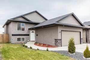 Mint 3 bedroom main floor home with double attached