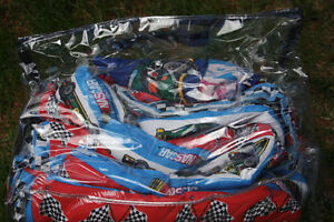 Double Nascar bed cover and curtains