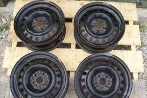 """4 17"""" Toyota Steel Wheels"""
