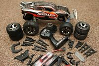 Traxxas Stampede Rustler Cross with TONS of Extras, complete pac