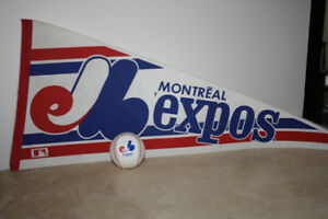 EXPOS Banner and Ball - Originals