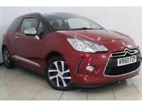 2010 60 CITROEN DS3 1.6 DSTYLE HDI 3DR 90 BHP DIESEL