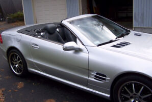 2003 Mercedes-Benz SL-Class Convertible  amg  PANARAMIC ROOF